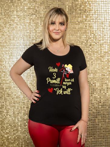 Promille Braut Damen T-Shirt