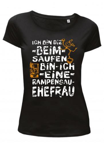 Ehefrau Rampensau Damen T-Shirt