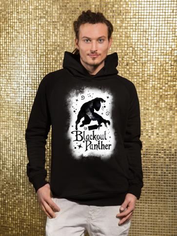 Blackout Panther Herren Hoodie