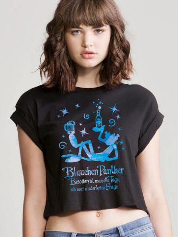 Blauchen Panther Crop Top