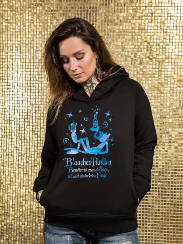 Blauchen Panther Damen Hoodie