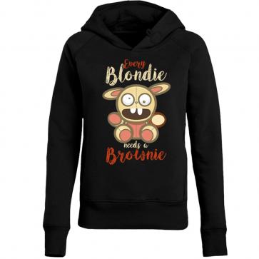 Bunny Blondie Damen Hoodie