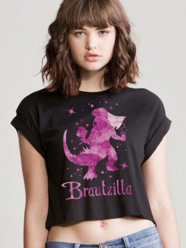 Brautzilla Crop Top