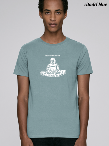 Buddhabrot Herren Shirt citadel blue