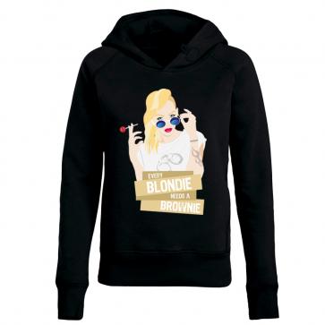 Vintage Blondie Damen Hoodie
