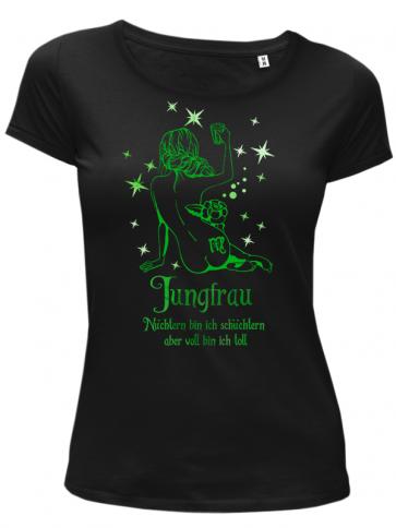 Jungfrau Damen T-Shirt