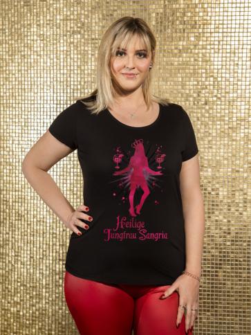 Jungfrau Sangria Damen T-Shirt