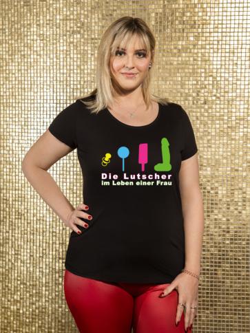 Lutscher T-Shirt Damen