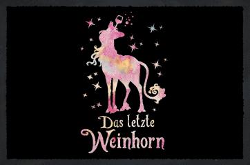 Weinhorn Fußmatte