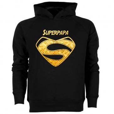 Superpapa Gold Herren Hoodie