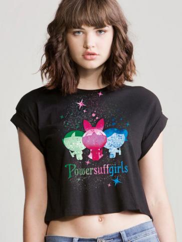 Powersuff Girls Crop Top
