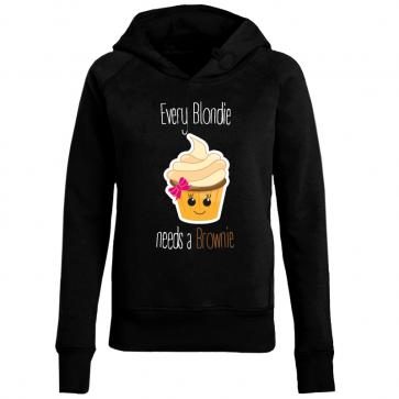 Cupcake Blondie Damen Hoodie