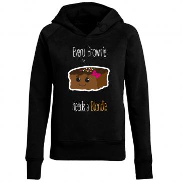 Cupcake Brownie Damen Hoodie