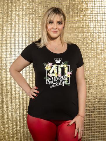 Queen 40 Damen T-Shirt