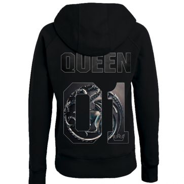 Queen in Love Damen Hoodie