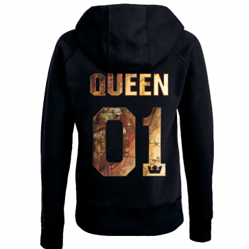 Queen in Gold Damen Hoodie