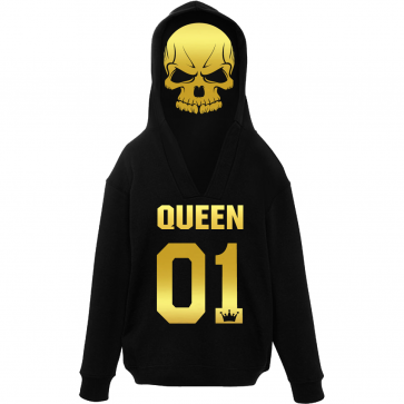 Unique Queen Damen Hoodie