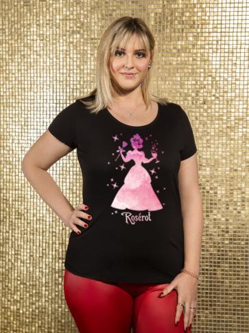 Roserot Damen T-Shirt