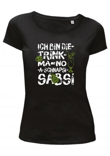 Sabsi Sabine Sabrina Damen T-Shirt