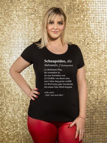 Schnapsidee Damen T-Shirt