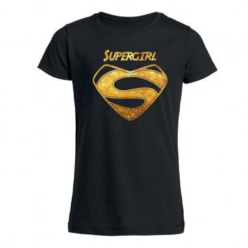 Supergirl Mädchen T-Shirt