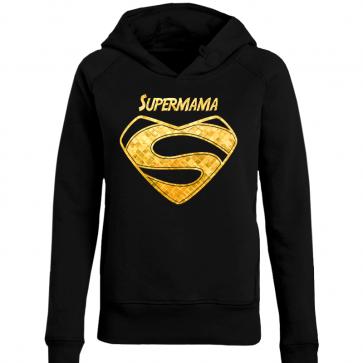 Supermama Gold Damen Hoodie