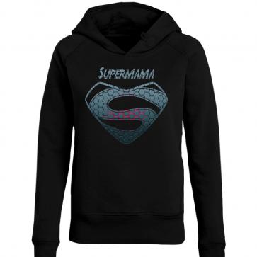 Supermama Metal Damen Hoodie