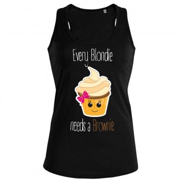 Cupcake Blondie Damen Tank