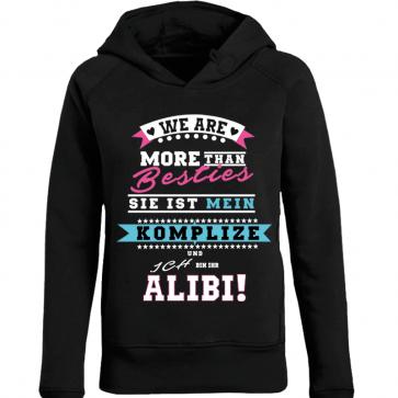 Alibi Pink Damen Hoodie