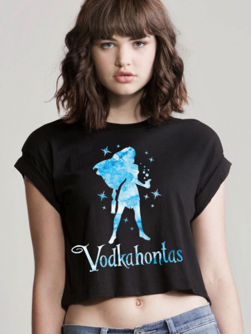 Vodkahontas Crop Top
