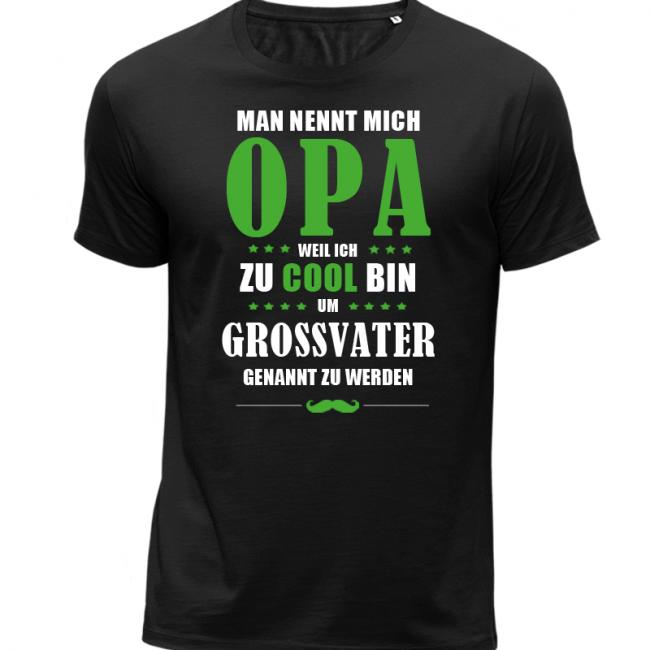 sneakers for cheap ea463 da905 Cooler Opa Herren T-Shirt