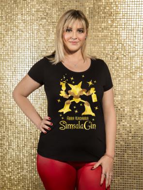 Sale Abra Kadabra SimalaGin Damen T-Shirt