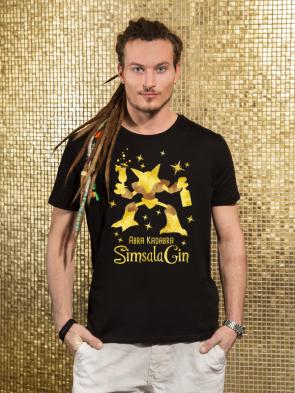 Sale Abra Kadabra SimsalaGin Herren T-Shirt
