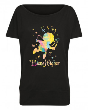 Biene Higher Damen Batwing T-Shirt