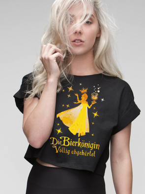 Bierkönigin Crop Top