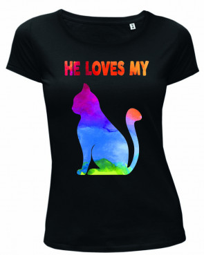 Cat Damen T-Shirt