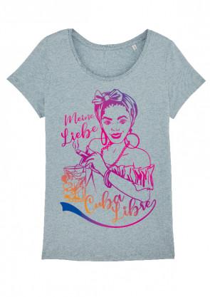 Cuba Libre Damen T-Shirt iceblue