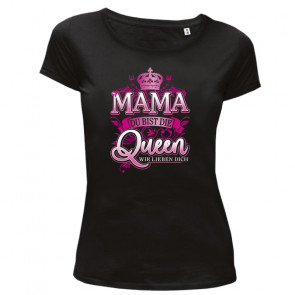Mama Queen Damen T-Shirt