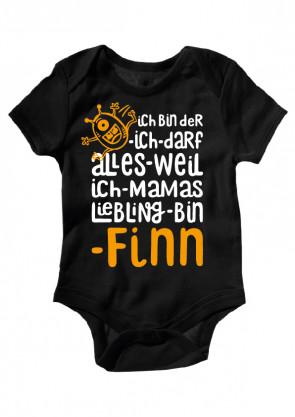 Finn Baby Body Burschen