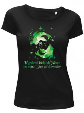 Fische Grün Damen T-Shirt