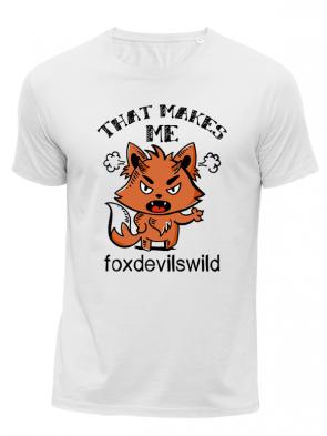 Foxdevilswild Herren T-Shirt