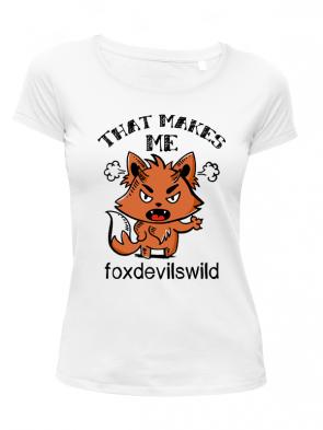 Foxdevildwild Damen T-Shirt