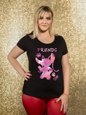 Alien Pink T-Shirt