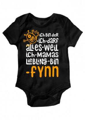 Fynn Baby Body Burschen