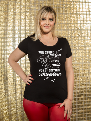 Gestern Schwestern Cocktail Damen T-Shirt