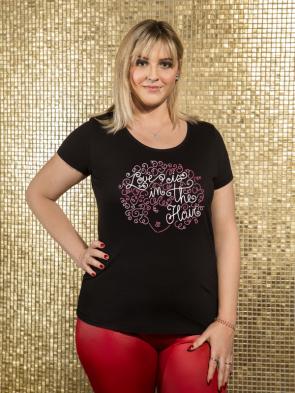 Love is in the hair Damen T-Shirt