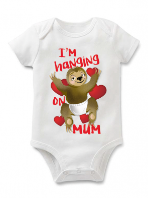 Hanging Baby Body white