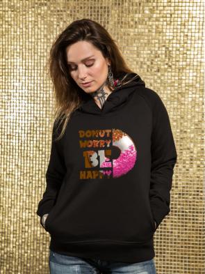 Donut Damen Hoodie