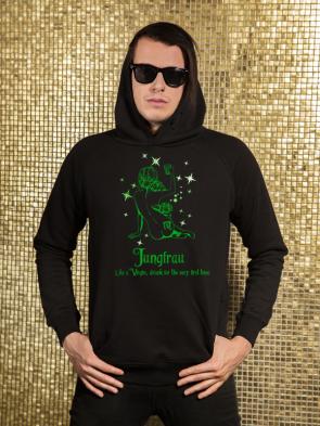 Jungfrau Herren Hoodie