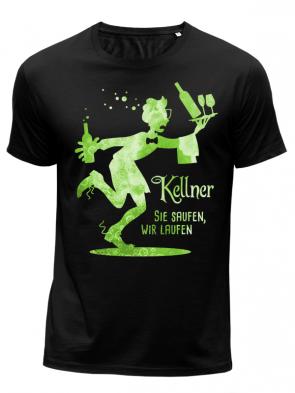 Kellner grün Herren T-Shirt